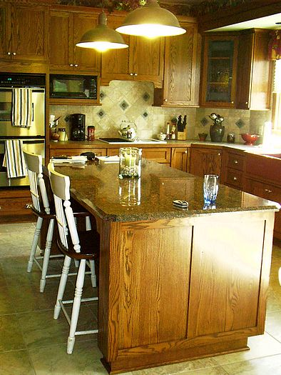 Remodled kitchen in Ross, Ohio (Cincinnati) Picture 1