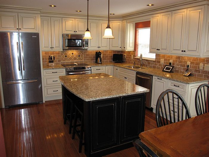 Off White Kitchen Cabinets With Glaze | Home Design and ...